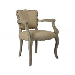 Un fauteuil cabriolet simple et élégant - Maison d'un Rêve.