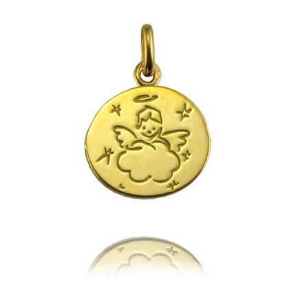 Médaille de baptême Ange Nuage- Arthus Bertrand