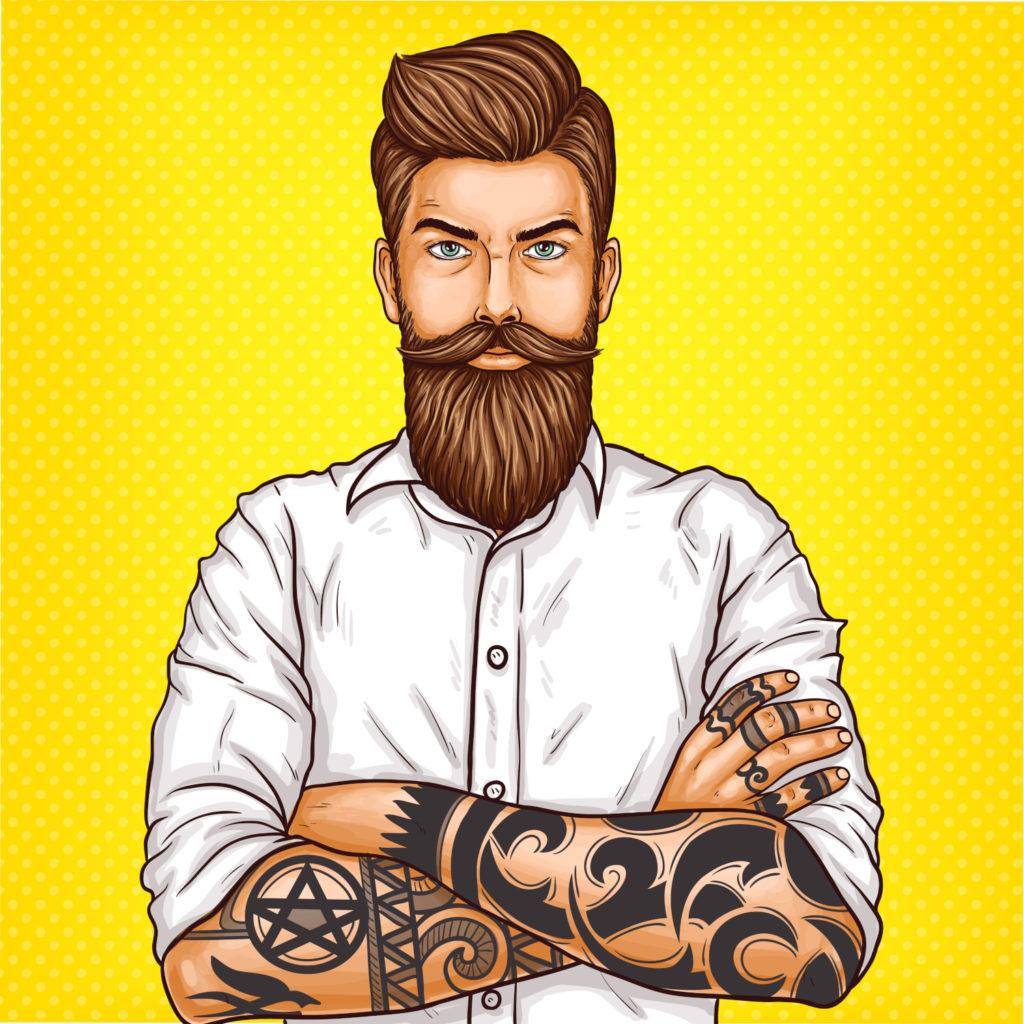 comment se raser la barbe